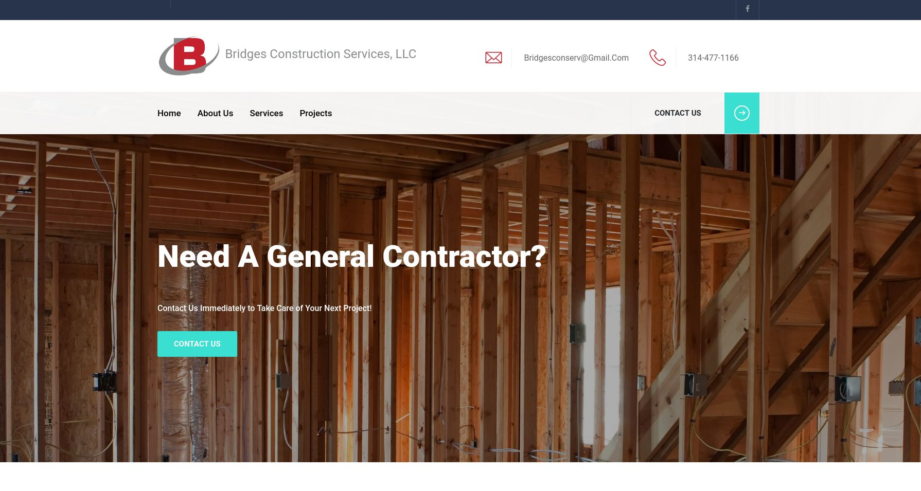 Websites by Daniel Portfolio (Bridges Constuction LLC)