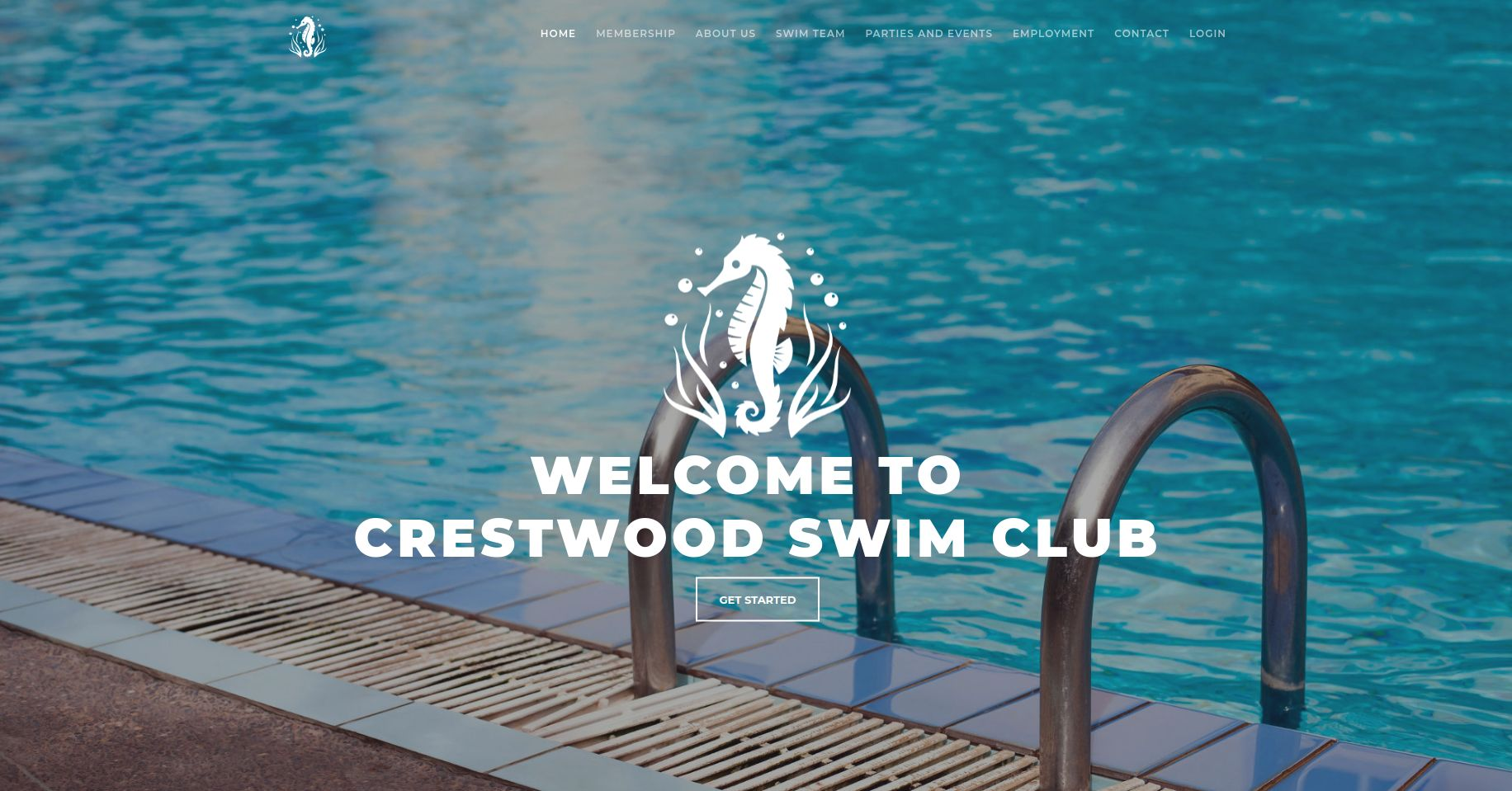 Websites by Daniel Portfolio (Crestwood Swim Club)